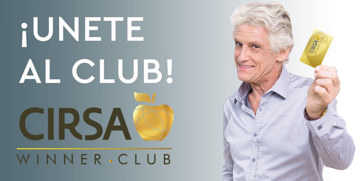CIRSA Winner Club premios tragaperras
