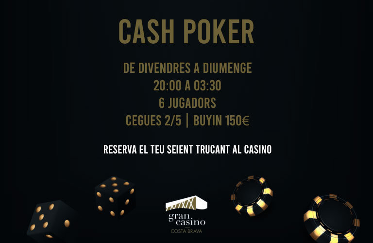 poker cash catalunya
